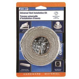 Vent Install Kit w / Putty Tape