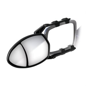Mirror Double Glass Clamp On