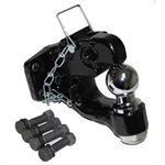 Pintle Hitch 8 Ton 2in Combo