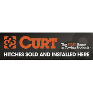 Sign Curt 9 x 30in Sticker