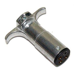 Plug 4-Way Cast Metal Pkg