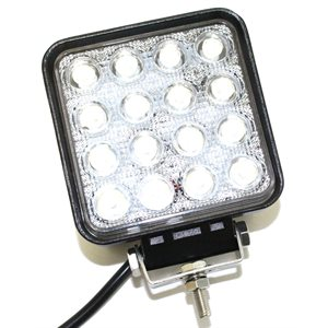 Light Work LED Square 4in 48 Watt
