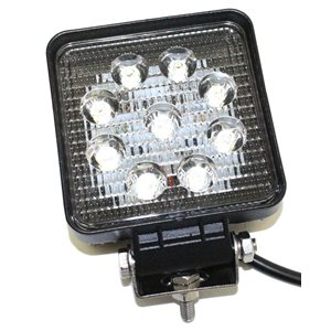 Light Work LED Square 4in 27 Watt