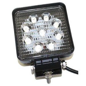 Light Work LED Square 4in 27 Watt