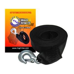 Strap Winch 2in x 23ft w / Hook