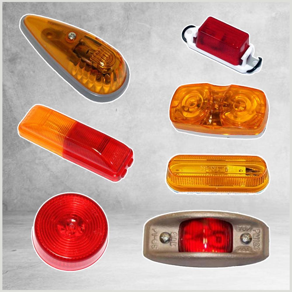 Incandescent Clearance & Side Marker Lights