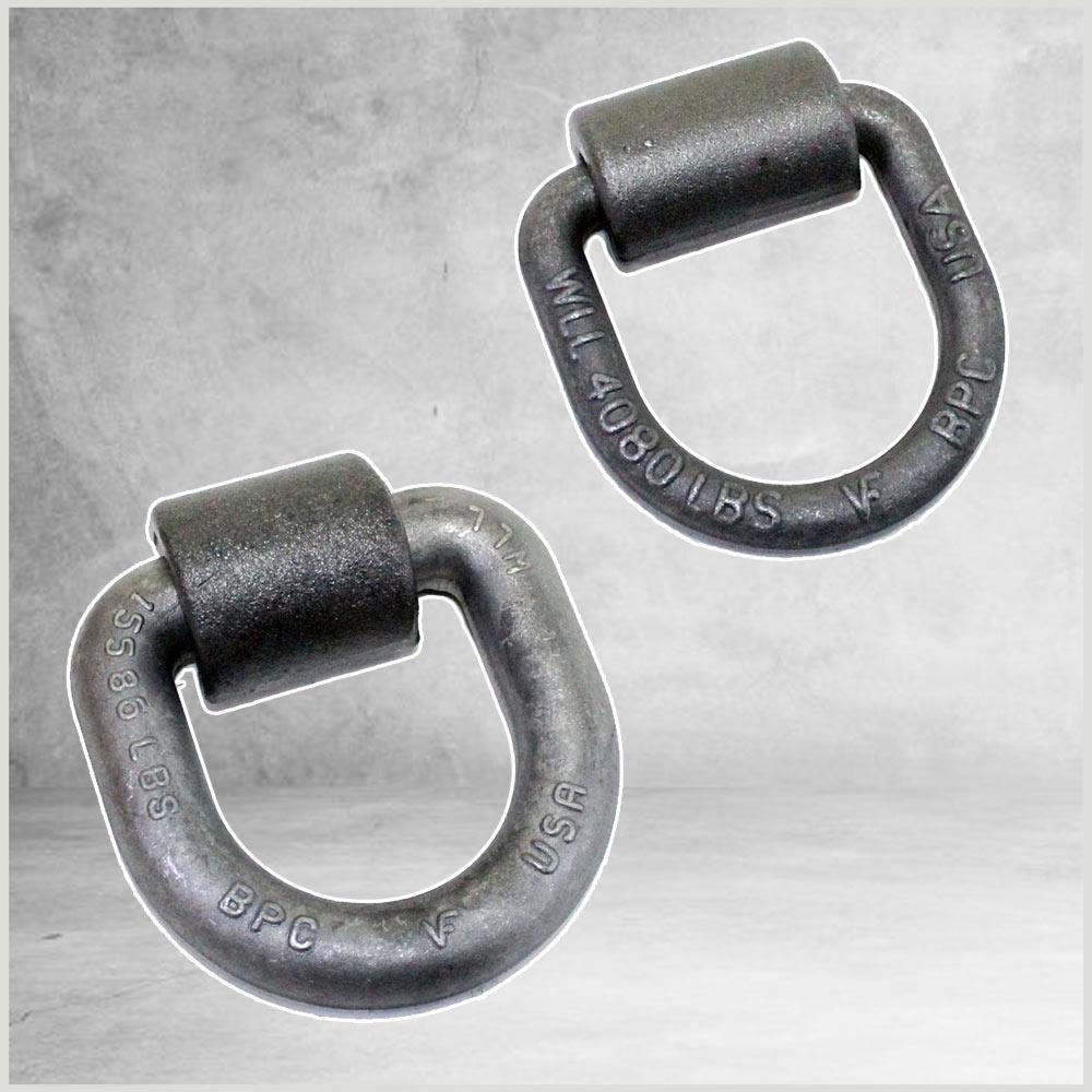 Heavy Duty Weld-On D-Ring