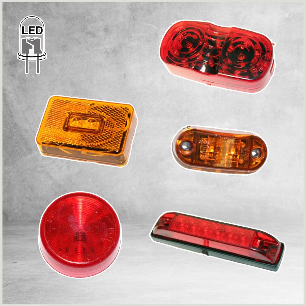 LED Clearance & Side Marker Lights