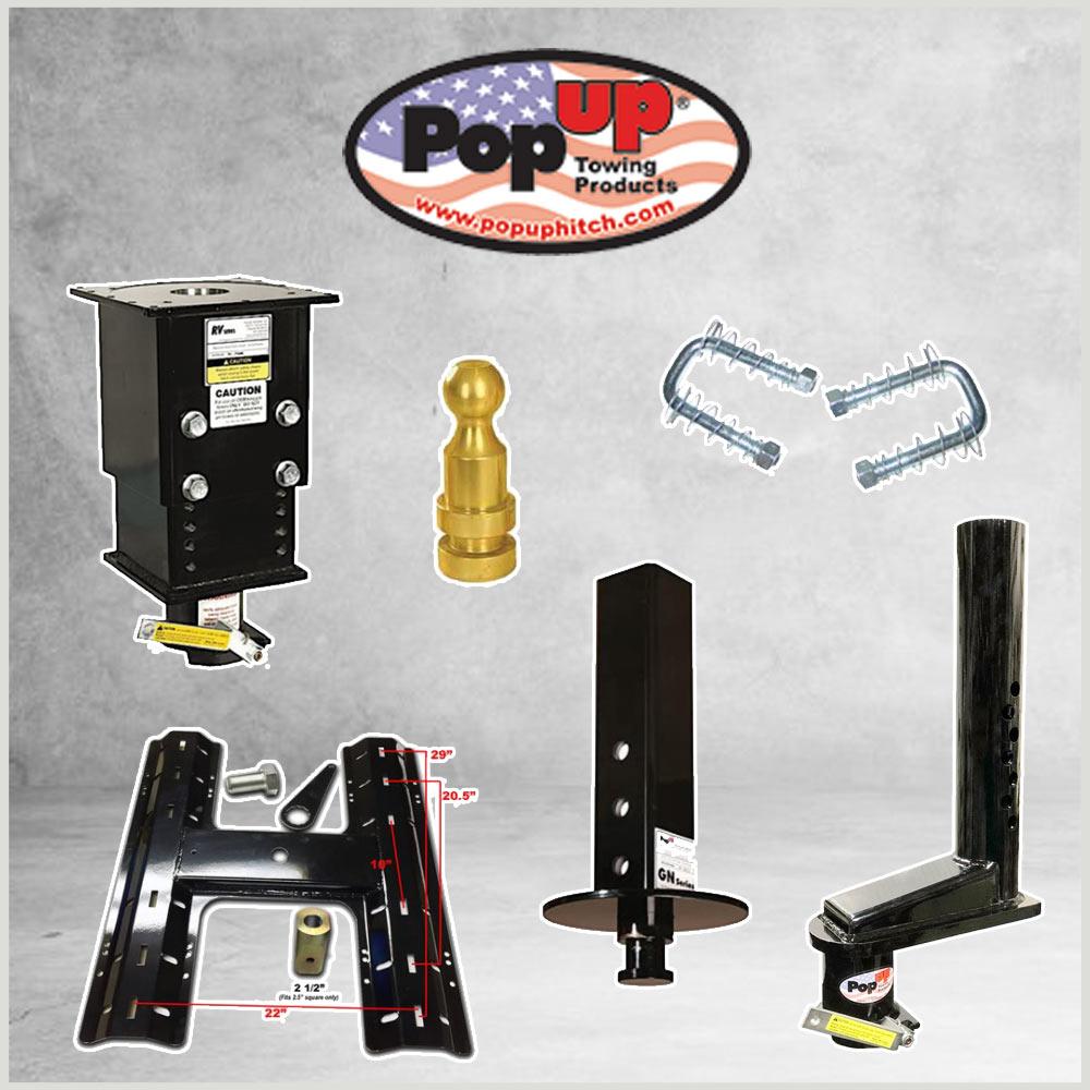 Pop-Up Gooseneck & Adapters
