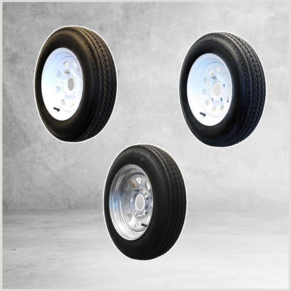 Tire Wheel Combos 12 in.