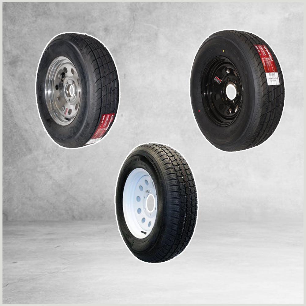 Tire Wheel Combos 15 in.