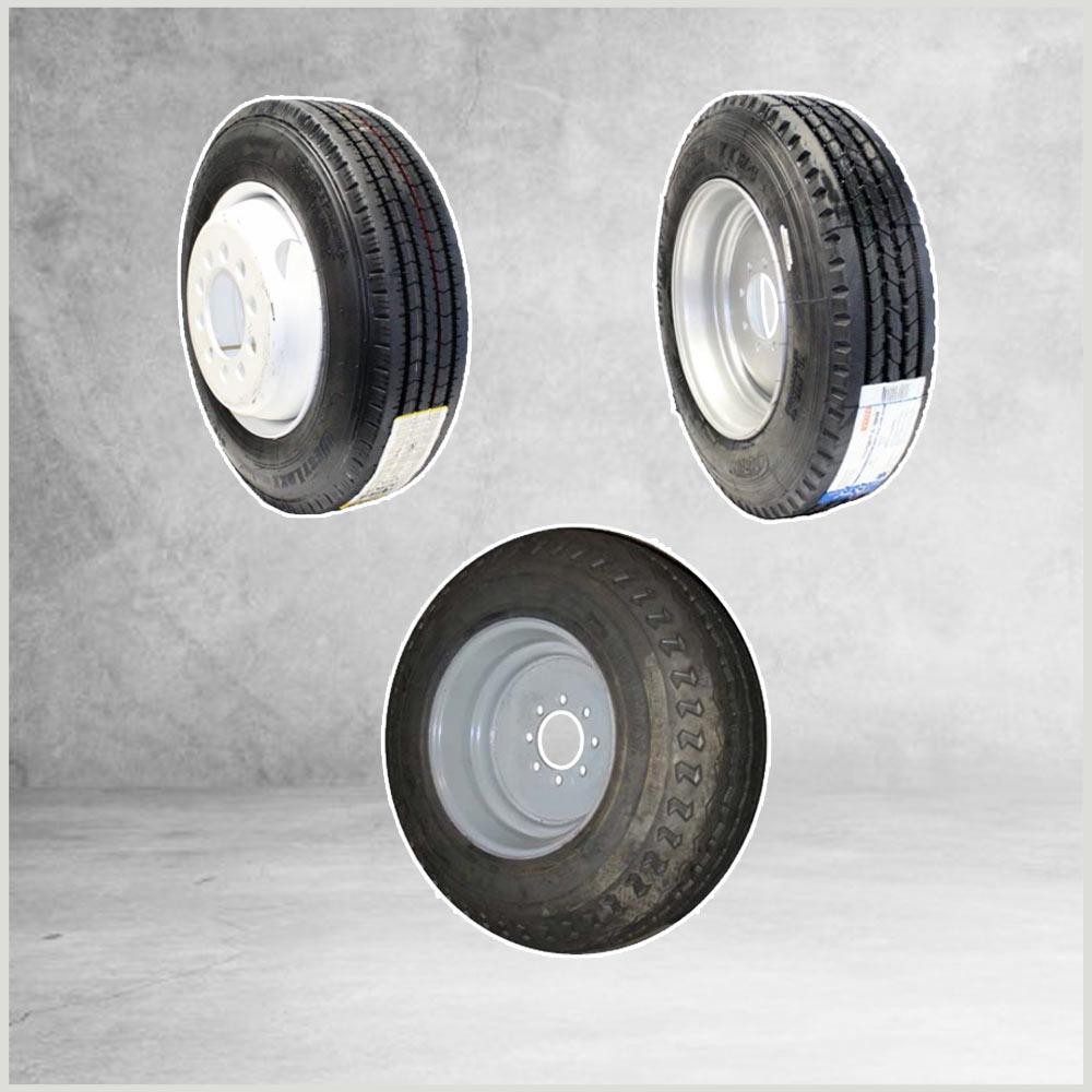 Tire Wheel Combos 16.5 in. - 22.5 in.