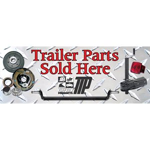 Sign Trailer Parts Sold Here