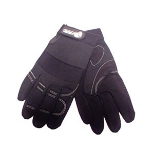 Gloves Black Lg