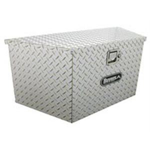 Toolbox 15x14.5x34 Tongue Alum