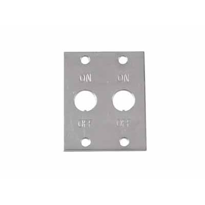 (WSL) 2 Toggle Switch Plate On