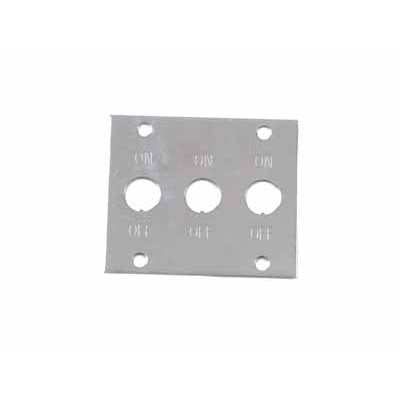 (WSL) 3 Toggle Switch Plate On