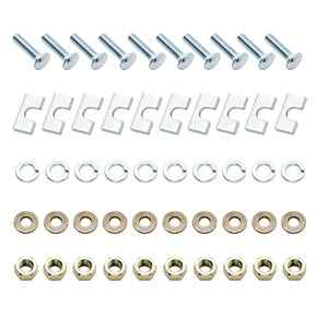 5th Wheel Rail Hardware Kit