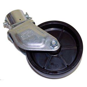 Caster Wheel 6in Poly 2in Jack