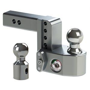 Mount Ball Adj 2x4 D w /  WS06 Lock